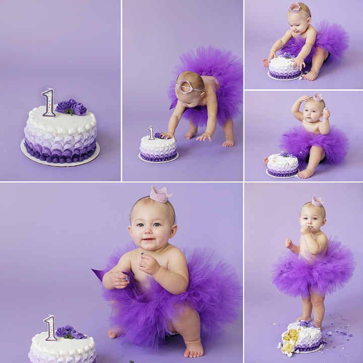 Minneapolis Portrait Photographer First Birthday Smash Cake Jm